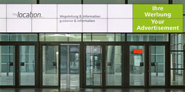 Digital Signage bei der Messe xyz