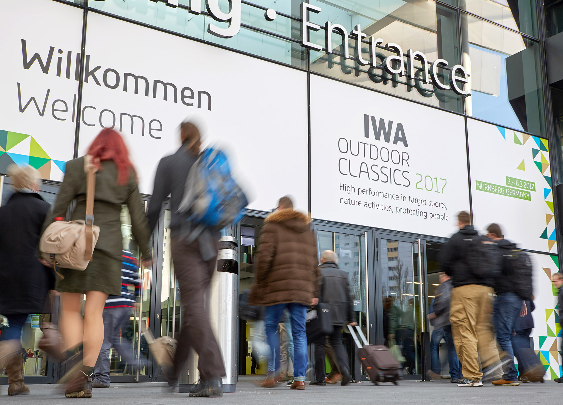 IWA OutdoorClassics central entrance